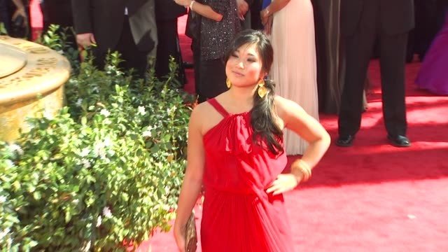 Jenna Ushkowitz at the 62nd Primetime Emmy Awards Arrivals at Los Angeles CA