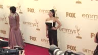 Jenna Ushkowitz at the 63rd Primetime Emmy Awards Arrivals Part 2 at Los Angeles CA