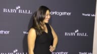 Jenna Ushkowitz at the second annual AdoptTogether Baby Ball Gala at NeueHouse Hollywood at Celebrity Sightings in Los Angeles on November 11 2016 in...