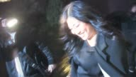 Jenna Ushkowitz at Trousdale in West Hollywood 02/14/11 at the Celebrity Sightings in Los Angeles at Los Angeles CA