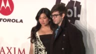 Jenna Ushkowitz Kevin McHale at the The Maxim Party Powered By Motorola Xoom at Dallas TX