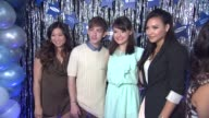 Jenna Ushkowitz Kevin McHale Guest and Naya Rivera at the GLEE's William McKinley High School Comes To Life At The First Ever 'SAMSUNG ATT SPRING...