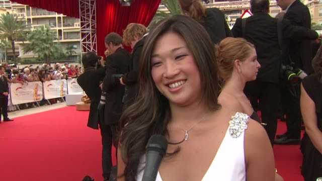Jenna Ushkowitz on being out tonight on how exciting the week has been On the success of Glee and how fun it is to see people's reactions to their...
