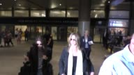 Jennifer Aniston arriving at LAX Airport in Los Angeles in Celebrity Sightings in Los Angeles