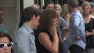 Jennifer Aniston on location for the film 'Squirrels to the Nuts' in New York NY on 7/17/13