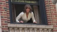 Jennifer Aniston on location for the film 'Squirrels to the Nuts' in New York NY on 7/18/13