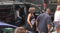 Jennifer Aniston on the set of 'Squirrels to the Nuts' in New York NY on 7/22/13
