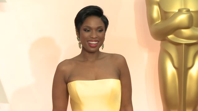 Jennifer Hudson at 87th Annual Academy Awards Arrivals at Dolby Theatre on February 22 2015 in Hollywood California