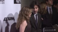 Jennifer Jason Leigh and Noah Baumbach at the 17th Annual Gotham Awards Presented by IFP at Steiner Studios in Brooklyn New York on November 27 2007