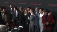 Jennifer Jason Leigh Demian Bichir Bruce Dern Michael Madsen Samuel L Jackson Kurt Russell Walton Goggins Tim Roth and Bruce Dern at 'The Hateful...