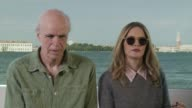 INTERVIEW Jennifer Jason Leigh Tom Noonan on peoples relationship with the film stop motion in the film at 'Anomalisa' Interview 72nd Venice Film...