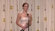 SPEECH Jennifer Lawrence at 85th Annual Academy Awards Press Room on 2/24/13 in Los Angeles CA