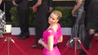 Jennifer Lawrence at the 17th Annual Screen Actors Guild Awards Arrivals at Los Angeles CA