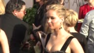 Jennifer Lawrence at the 68th Annual Golden Globe Awards Arrivals at Beverly Hills CA