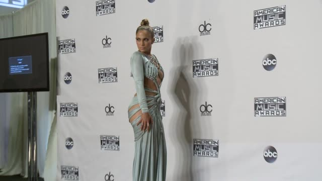 Jennifer Lopez at 2015 American Music Awards in Los Angeles CA