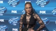 Jennifer Lopez at the 'American Idol' XIV Grand Finale Arrivals at Dolby Theatre on May 13 2015 in Hollywood California