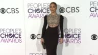 Jennifer Lopez at the People's Choice Awards 2017 at Microsoft Theater on January 18 2017 in Los Angeles California
