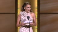 Jennifer Lopez thanks the women in her life for this award and for shaping her into the woman she is today at the GLAMOUR Magazine's 21st Annual...