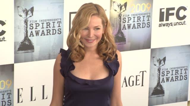 Jennifer Westfeldt at the Film Independent's 2009 Spirit Awards Arrivals Part 3 at Los Angeles CA