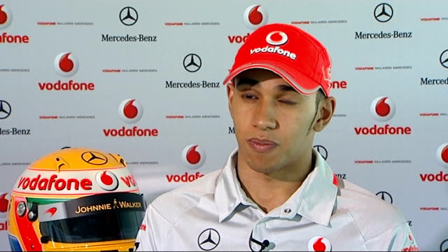 F1 Jenson Button and Lewis Hamilton pre2010 season interviews Lewis Hamilton interview continues SOT On the return of Michael Schumacher he's not my...