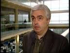 Jeremy Abraham interviewed SOT Blunkett speaking to press