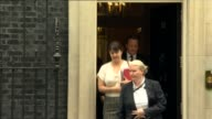 Jeremy Corbyn and David Cameron first PMQs exchange Downing Street EXT David Cameron MP from Number 10