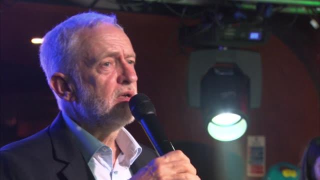 Jeremy Corbyn appears on 'The Fix Live' at The World Transformed festival Jeremy Corbyn MP speech SOT