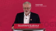 Jeremy Corbyn criticising the SNP saying they want to fight for 'an unnecessary and unwanted referendum but have failed miserably in the fight...
