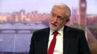 Jeremy Corbyn criticising Theresa May for her reasons for calling the general election and her subsequent performance