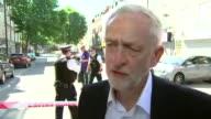 Jeremy Corbyn describing the scene after the Finsbury Park terror attack