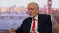 Jeremy Corbyn discussing his plans for Britain to have four extra days Bank Holiday if Labour were to win the general election