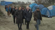 Jeremy Corbyn has described conditions in France's refugee camps as 'a disgrace' and 'shameful for Europe' On his first foreign visit as Labour...