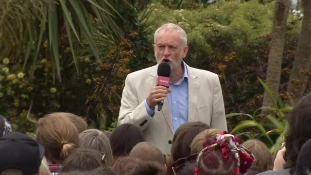 Jeremy Corbyn in Hastings and Rye Jeremy Corbyn speech SOT investment preschool NHS environment