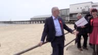 Jeremy Corbyn is campaigning in Gorleston near Great Yarmouth and talks cyber security labour economic plans Tom Watson defeat comments and pensions