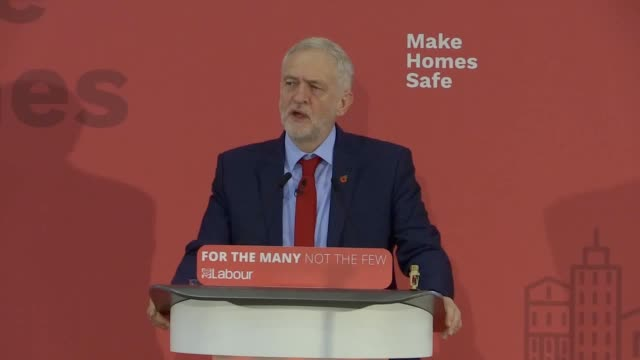 Jeremy Corbyn launches the Make Homes Safe campaign The Labour Party leader has called on the Chancellor to set aside £1 billion in the Budget to...