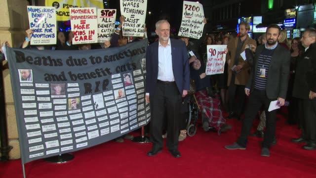 Jeremy Corbyn on October 18 2016 in London England