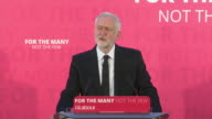 Jeremy Corbyn praising the emergency services NHS staff and members of the public for their response to the London Bridge terror attack
