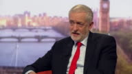Jeremy Corbyn saying an NHS that is publicly run and publicly accountable is more efficient