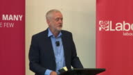Jeremy Corbyn saying emergency service workers such as the firemen who entered Grenfell Tower should receive higher wages