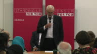 Jeremy Corbyn saying he wants to use the period before the election to 'set out a positive vision of the kind of society we can live in'