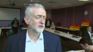 Jeremy Corbyn saying 'our tax burdens will not fall on those on low incomes they will fall on those with the broadest shoulders who can bear the...