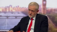 Jeremy Corbyn saying that if he was Prime Minister he would tell Donald Trump to 'get the Geneva process working quickly' as the only solution to the...