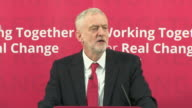 Jeremy Corbyn saying that the Labour party will demand the Brexit negotiations will give parliament the power to 'intervene decisively to prevent...
