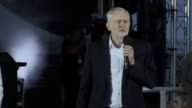 Jeremy Corbyn spoke at a rally in Brighton ahead of the Labour party conference that starts on September 24 The Labour leader was joined on stage by...