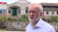 Jeremy Corbyn visits the Royal Cornwall Hospital He discusses the current state of the NHS the need for resources for the London Fire Brigade his...