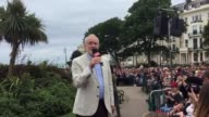 Jeremy Corbyn was greeted by thousands of cheering supporters as he targeted Home Secretary Amber Rudd's ultramarginal constituency and heralded...