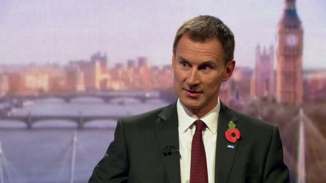 Jeremy Hunt saying the cabinet office will be conducting an investigation into sexual harassment allegations at Westminster