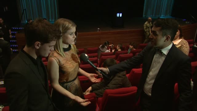 Jeremy Irvine Alice Eve at BAFTA Nominations 2013 at BAFTA on January 9 2013 in London England