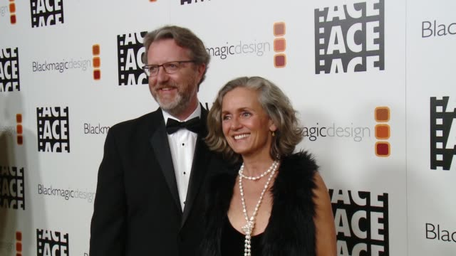 Jeremy Milton and Fabienne Rawley at 67th Annual ACE Eddie Awards in Los Angeles CA