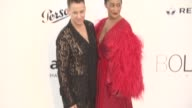 Jeremy Scott Tracee Ellis Ross at amfAR Gala Cannes 2017 at Hotel du CapEdenRoc on May 25 2017 in Cap d'Antibes France